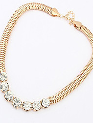 Work / Casual Alloy / Rhinestone Chain