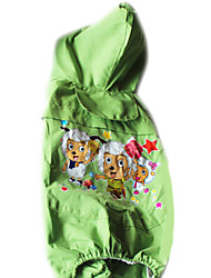 Dog Coat Green Dog Clothes Summer Fashion