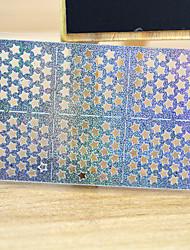 Autocolantes de Unhas 3D - Abstracto / Adorável - para Dedo - de Outro - com 5 sheets - 13*7.5