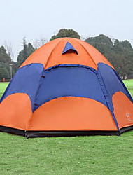 Sheng yuan 5-8 persons Tent Double Camping Tent Fold Tent Anti-Insect Breathability Oversized 1500-2000 mm for Hiking Camping-240*240*135