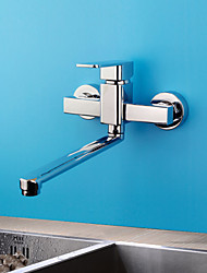 Centerset Single Handle Two Holes with Chrome Kitchen faucet