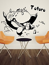 My Neighbor Totoro Cartoon Wall TV Wall Decoration Bedroom Wall Bed Background Wall sticker