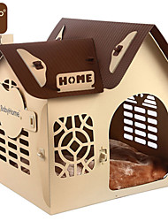 Fashion Comfortable Plastic Portable House For Dogs / Cats