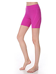 Yokaland Stripe Design With Mesh Slim Fit Yoga Fitness Running Short Pant