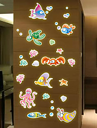 Hot Style Popular Wall Stick Wholesale New Cartoon Children Room Wall Cartoon Sea Creatures