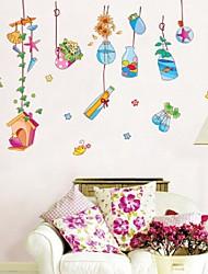 Hot Style Popular Wall Wander Bottle Cartoon Kindergarten Children Room Decorating Wall Stickers