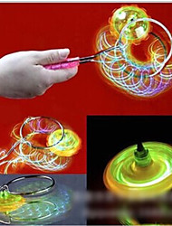 Magic Flying Toy Stall Selling Light-Emitting Gyro Magnetic Rotary Gyroscope