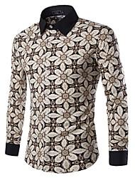 Men's Fashion Casual Long Sleeved  Shirt