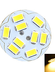 2W G4 Luces LED de Doble Pin Luces Empotradas 9 SMD 5730 100-200 lm Blanco Cálido / Blanco Fresco Decorativa DC 12 / AC 12 V 1 pieza