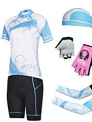 CHEJI Bike/Cycling Bandana/Hats/Headsweats / Arm Warmers / Jersey / Jersey + Pants/Jersey+Tights / Shorts / Clothing Sets/Suits Women's