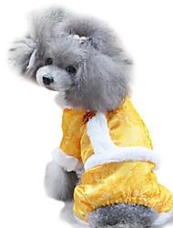 Dog Coat Yellow Summer Fashion
