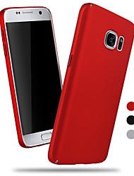 Für Samsung Galaxy S7 Edge Mattiert Hülle Rückseitenabdeckung Hülle Einheitliche Farbe PC Samsung S7 edge / S7 / S6