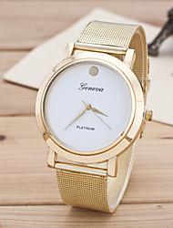 Women's European Style Fashion Simple Metal Mesh Belt Wrist Watch Cool Watches Unique Watches