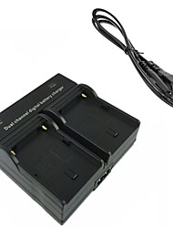 F550 Digital Camera Battery  Dual Charger for Sony NP-F550 NP-F330 NP-F530 NP-F570 NPF550 FM50 FM500H