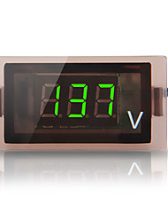 12V-24V Car Truck Digital Green Led Voltmeter Voltage Panel Gauge