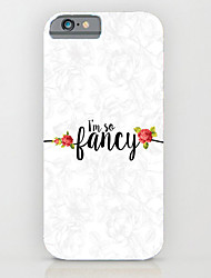 Cool English Word Pattern PC Phone Case Hard Back Case Cover for iPhone5/5S