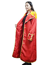 Inspiré par One Piece Monkey D. Luffy Anime Costumes de cosplay Costumes Cosplay Imprimé Rouge Cape