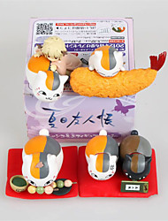 Natsume's Book of Friends  Anime Action Figures Model Toys Doll Toy 4pcs 7cm
