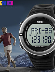 Da uomo Guarda Digitale Orologio sportivo Calendario / Monitoraggio frequenza cardiaca Silicone Banda