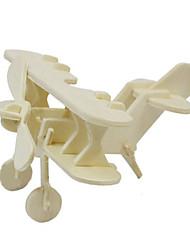 Quebra-cabeças Quebra-Cabeças 3D Quebra-Cabeças de Madeira Blocos de construção Brinquedos Faça Você Mesmo Aeronave Madeira