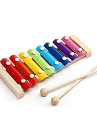 Hand Instrument Colourfu Music Toy Wood