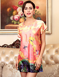 The new summer dress female short sleeved pajamas