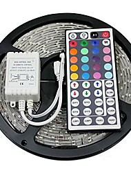 Z®zdm 5m 72w 300x5050 rgb smd light led strip light 44key ir комплект для пульта дистанционного управления (dc12v)
