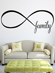 Family Living Room Sofa Wall Decals Home Decoration Wallpaper Painting Removable Wall Sticker Home Decor Pvc