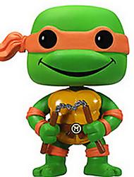 Ninja Turtles Michelangelo 10CM Anime Action Figures Model Toys Doll Toy