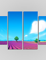 Canvas Set Of 5 Modern Print Landscape Painting On The Wall Home Decor