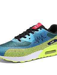 Scarpe Sneakers Da uomo Tulle Blu / Rosso / Grigio