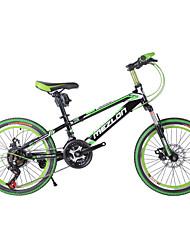 "fietsen 21 versnellingen dubbele schijfremmen 20 ""mountainbike koolstofstaal"