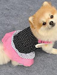 Sweety Comfortable Polka Dots Pet Dress
