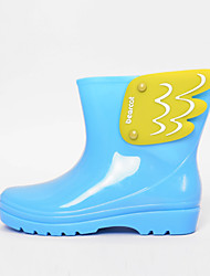 Women's Spring / Summer / Fall / Winter Rain Boots Rubber Outdoor Black / Blue / Yellow / Pink