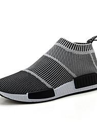 Sapatos Tênis Masculino Preto e Branco Tule