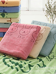 Cartoon Rabbit Reactive Print Beach Towel,27.5 by 55 inch