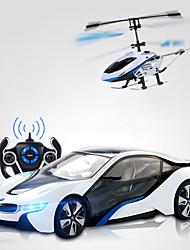 rastar Spielzeug Pinsel elektrische auf der Straße rc Auto rc Hubschrauber 2in1 spezielle Pakete