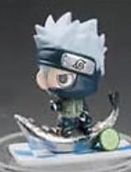 Naruto Hatake Kakashi 8CM Las figuras de acción del anime Juegos de construcción muñeca de juguete