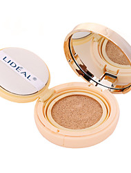 1 Foundation Wet / Matte Cream Moisture / Whitening / Concealer Face Natural / Ivory Zhejiang LIDEAL