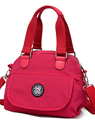 Women Canvas Sports / Casual / Outdoor / Shopping Shoulder Bag / Tote / Satchel / Coin Purse Pink / Purple / Blue / Red / Black