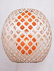 Lustre ,  Retro Autres Fonctionnalité for LED Bois/Bambou Salle de séjour Chambre à coucher Salle à manger Bureau/Bureau de maison Couloir