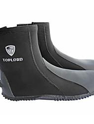Tauchen Flossen / Wassersport Schuhe Neopren Schwarz