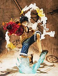 Las figuras de acción del anime Inspirado por One Piece Cosplay 14 CM Juegos de construcción muñeca de juguete