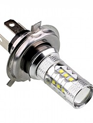 12V 80W CREE LED H4 Car LED Fog Lamp Car High Beam Lamp Low Car Low Beam Lamp for  Car Corolla Elantra etc
