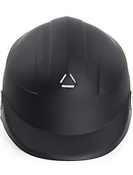 Size 55Cm-60Cm Motorcycle Helmet Balck Half Open Face Adjustable