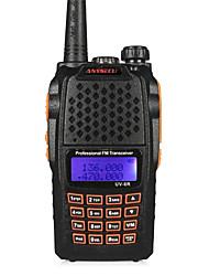 anysecu uv-6R 256ch vhf 136-174 / 400-520mhz dual band transceptor de rádio hf