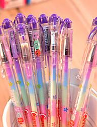 3pcs 6 Farbkombination Aquarellfarben DIY manuelle Stift Album (zufällige Farben)