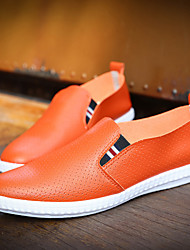 Men's Shoes Casual  Loafers Black / White / Orange
