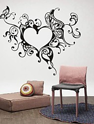 Romance / Mode / Abstrait / Fantaisie Stickers muraux Stickers avion,PVC M:42*53cm / L:55*69cm