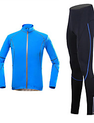 KOSHBIKE/KORAMAN® Cycling Jersey with Tights Men's Long Sleeve BikeBreathable / Quick Dry / Ultraviolet Resistant / Moisture Permeability